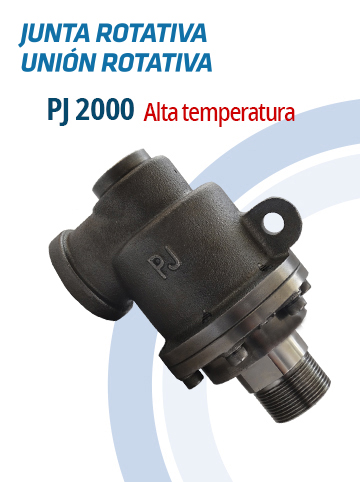 Juntas Rotativas e Uniões Rotativas PJ 2000