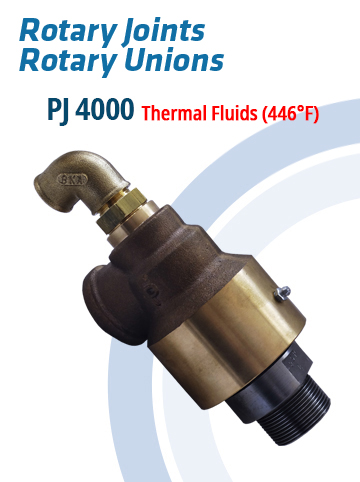 Rotary Joints and Rotary Unions PJ4000 – Thermal Fluids