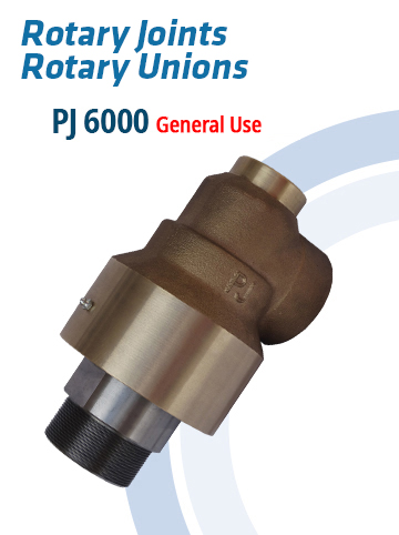 Rotary Joints and Rotary Unions PJ6000 – General Use